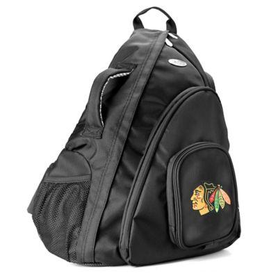 NHL Chicago Blackhawks 19-Inch Travel Sling Backpack