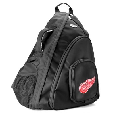 NHL Detroit Red Wings 19-Inch Travel Sling Backpack