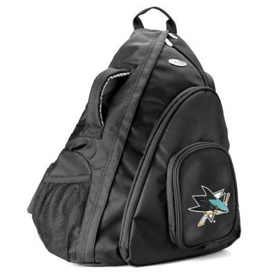NHL San Jose Sharks 19-Inch Travel Sling Backpack