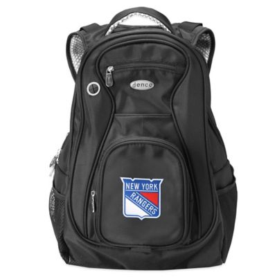 NHL New York Rangers 19-Inch Travel Laptop Backpack