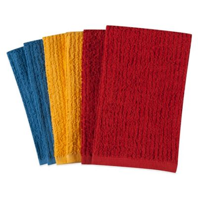 Solid Colors Kitchen Towels (Set of 6)