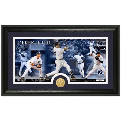 MLB New York Yankees Derek Jeter Coin Panoramic Photo Mint