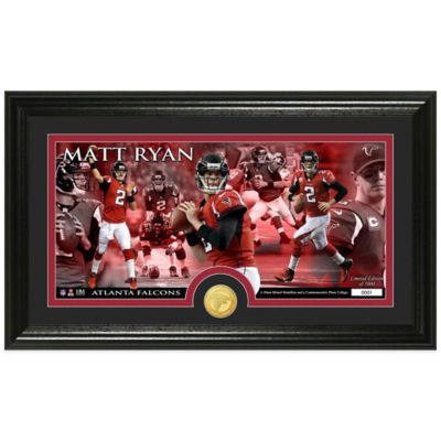 NFL Atlanta Falcons Matt Ryan Coin Panoramic Photo Mint