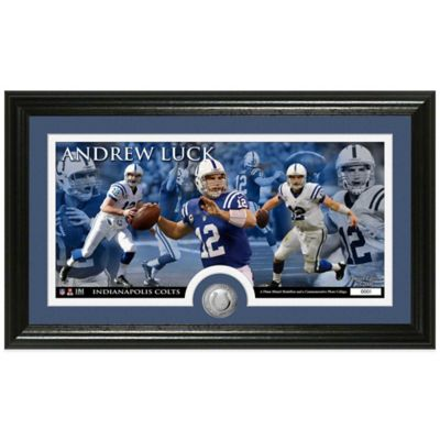 NFL Indianapolis Colts Andrew Luck Coin Panoramic Photo Mint
