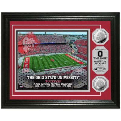 Ohio State University Stadium Silver Coin Photo Mint