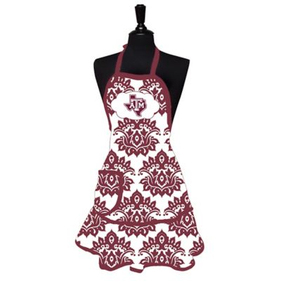 Texas A&M University Damask Women's Apron