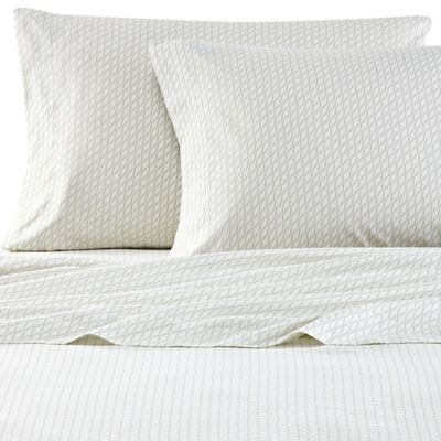 Nautica® Leighton California King Sheet Set in Khaki