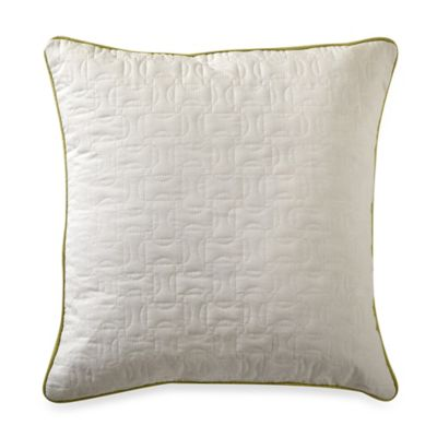 Nautica® West Bay Quilted Square Throw Pillow