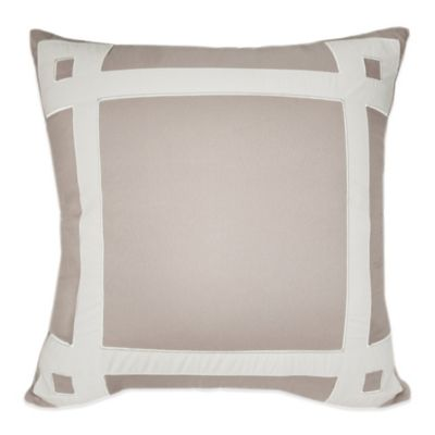 Ashlyn Pieced Square Throw Pillow
