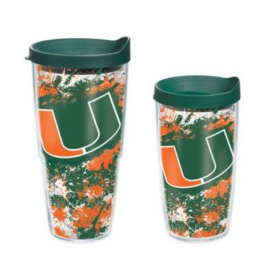 Tervis® University of Miami Splatter Wrap 16 oz. Tumbler with Lid