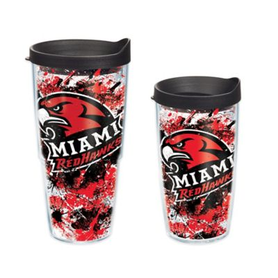 Tervis® Miami University Splatter Wrap 16 oz. Tumbler with Lid