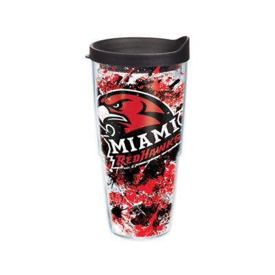 Tervis® Miami University Splatter Wrap 24 oz. Tumbler with Lid