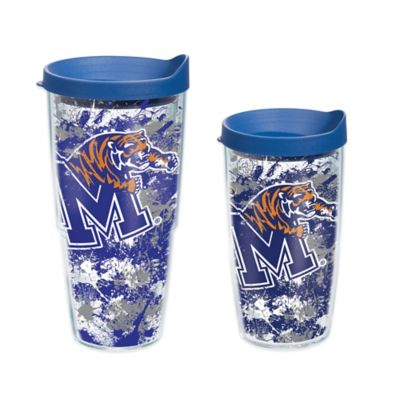 Tervis® University of Memphis Splatter Wrap 24 oz. Tumbler with Lid