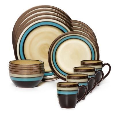 Blue Banded Dinnerware