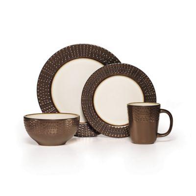 Mikasa® Metropolitan 16-Piece Dinnerware Set in Brown