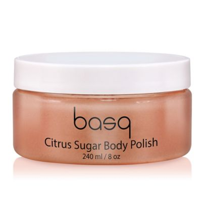basq Skin Body Polish Sugar Scrub in Citrus