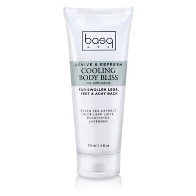 basq 6 oz. Revive and Refresh Cooling Body Bliss Anti-Fatige Gel