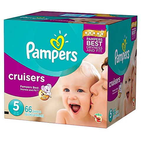 pampers cruisers 66 count size 5 jumbo pack disposable. Black Bedroom Furniture Sets. Home Design Ideas