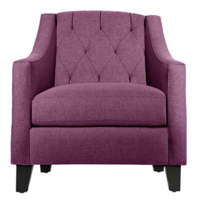 Kyle Schuneman for Apt2B Jackson Chair in Amethyst
