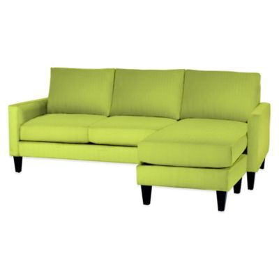 Kyle Schuneman for Apt2B Clark Reversible Chaise Sofa in Chartreuse