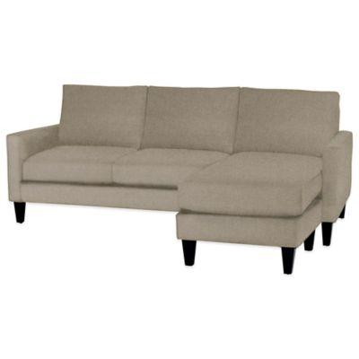 Kyle Schuneman for Apt2B Clark Reversible Chaise Sofa in Woven Gravel