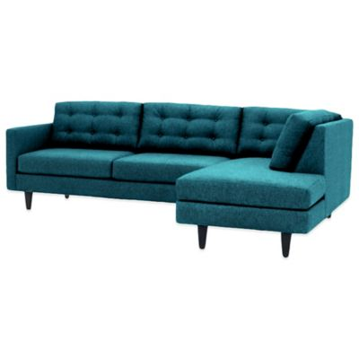 Kyle Schuneman for Apt2B Logan 2-Piece Right Arm Facing Sectional in Chicago Blue