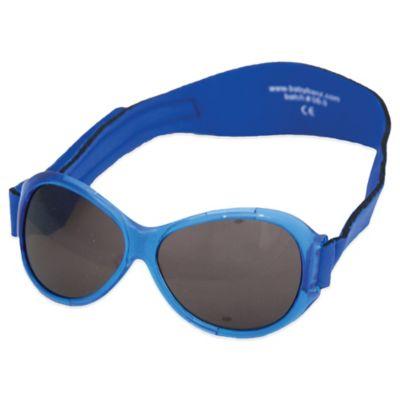 Baby Banz Retro Banz Infant Sunglasses in Pacific Blue