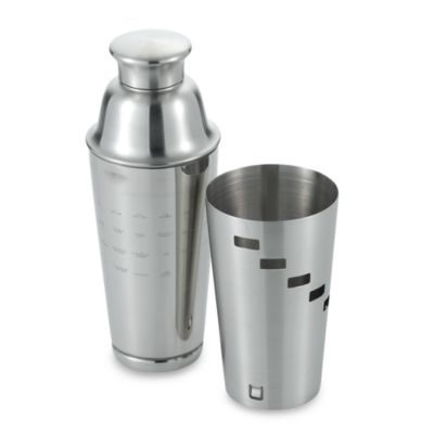 Dial-A-Drink Stainless Steel Cocktail Shaker