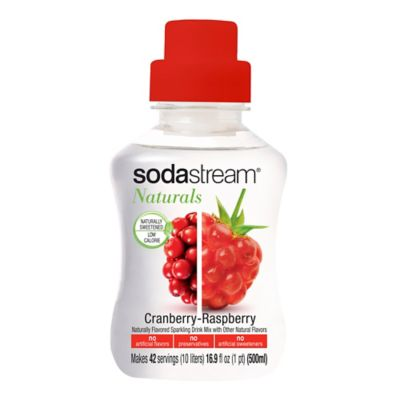 SodaStream® Naturals Cranberry Raspberry Sparkling Drink Mix