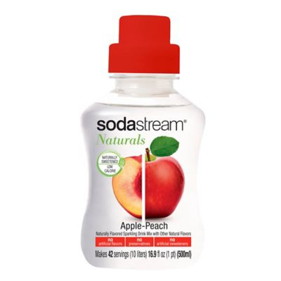 SodaStream® Naturals Apple Peach Sparkling Drink Mix