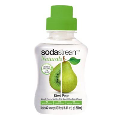 SodaStream® Naturals Kiwi Pear Sparkling Drink Mix
