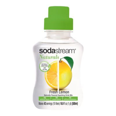 SodaStream® Naturals Fresh Lemonade Sparkling Drink Mix
