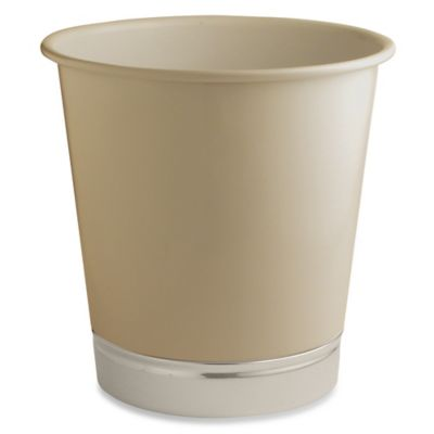 InterDesign® York Wastebasket in Matte Linen