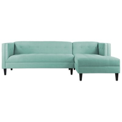 Kyle Schuneman For Apt2B Pacific 2-Piece Right Arm Facing Sectional in Mint