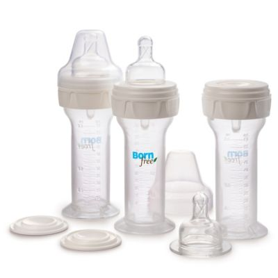 Born Free® Newborn and Preemie 3-Piece 2 oz. Bottle and Milk Storage Set