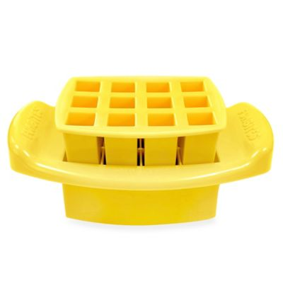 FunBites Food Cutter in Yellow Squares