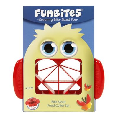 FunBites Food Cutter in Red Hearts