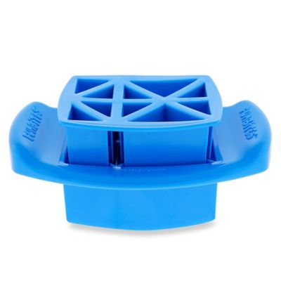 FunBites Food Cutter in Blue Triangles