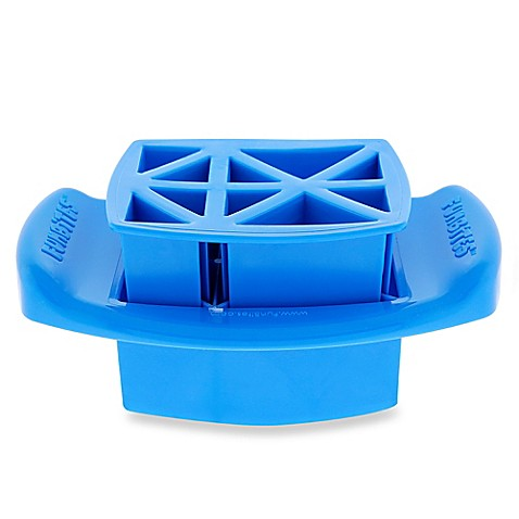 Funbites food cutter in blue triangles www for Funbites