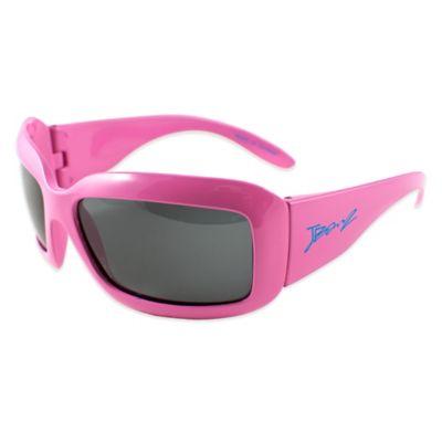 Baby Banz Junior Banz Polarized Sunglasses in Flamingo Pink