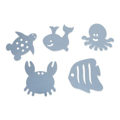 Blue Kids Bath Accessories