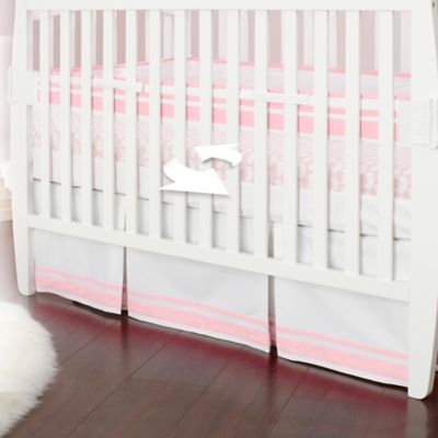 Just Born® Mix & Match Safe Sleep Fresh Air Crib Liner in Barely Pink