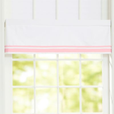 Just Born® Classic Bedding Collection Window Valance in Barely Pink