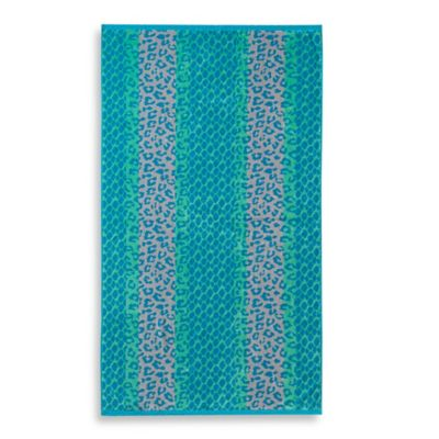 Leopard Stripe Beach Towel
