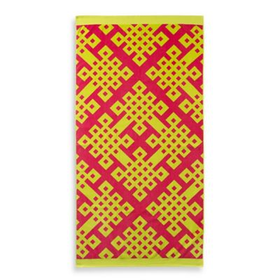 Lime Beach Towels