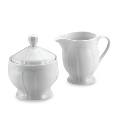 Mikasa® Antique White Sugar and Creamer Set