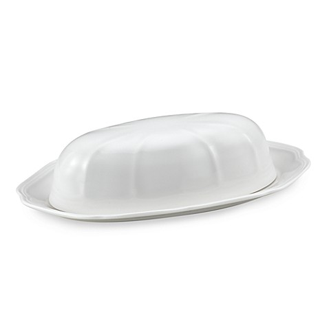 Mikasa® Antique White Covered Butter Dish