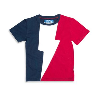Kapital K™ Size 4T Super Thunder T-Shirt in Blue/White/Red