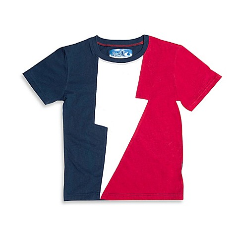 Kapital K™ Super Thunder T-Shirt in Blue/White/Red ...