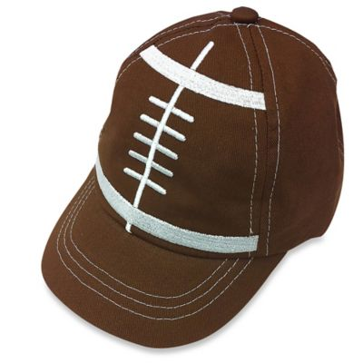So'Dorable Infant Football Cap in Brown